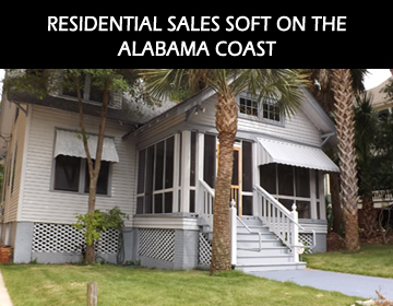Zack Childress March 2012 Residential Sales Soft on the Alabama Coast