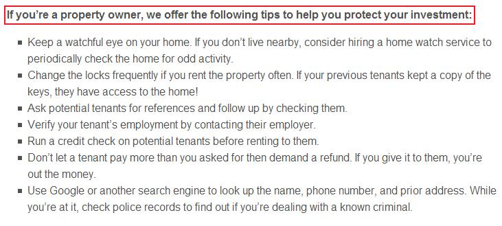 zack childress scam tips-online rental scam