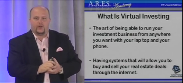 Virtual real estate investing