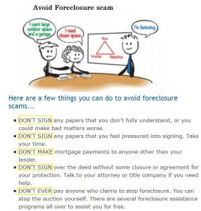 zack childress real estate scam tips for avoid foreclosure scam